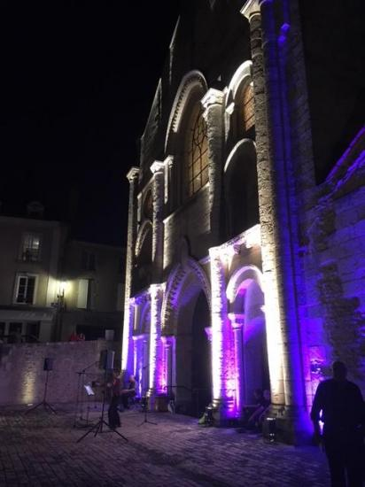Illumination de l'église