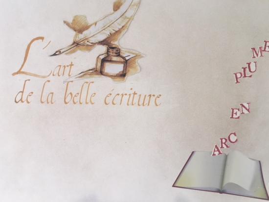ARC en PLUME Calligraphie
